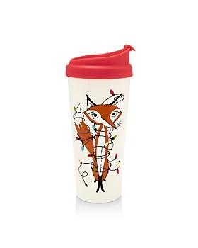kate spade new york - Festive Foxes Thermal Mug