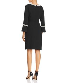 KARL LAGERFELD Paris - Faux Pearl Trim Dress