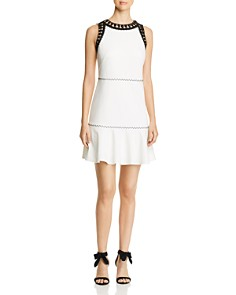 Kobi Halperin - Sylvie Sleeveless Embroidered-Trim Dress