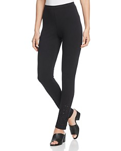 Johnny Was - Landon Eyelet Hem Leggings