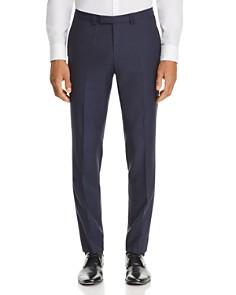 HUGO - Hesten Micro-Pattern Slim Fit Suit Pants