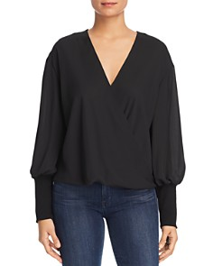 Marled - Bishop Sleeve Blouse