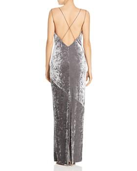Rachel Zoe - Alessia Velvet Drape-Neck Gown - 100% Exclusive