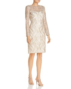 Tadashi Petites - Embellished Sheath Dress
