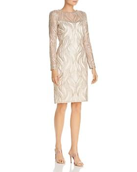 0bf0122a Tadashi Petites - Embellished Sheath Dress ...