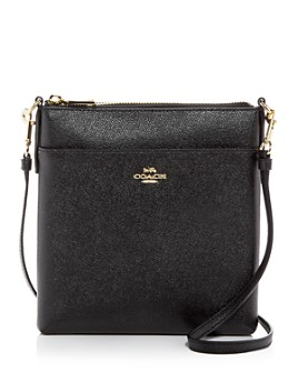 COACH - Kitt Leather Messenger Crossbody