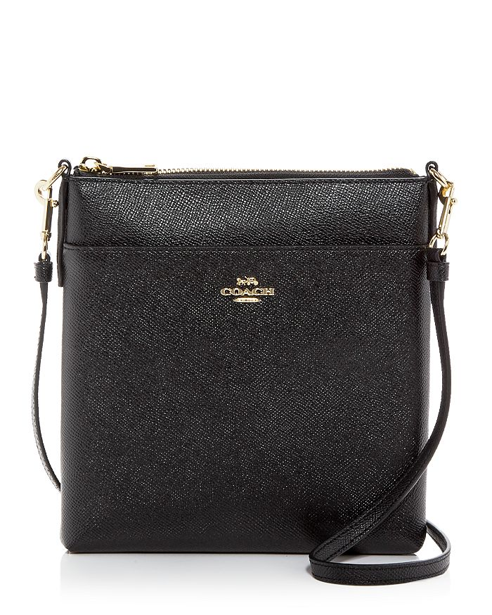 b5f0c692790f COACH - Kitt Leather Messenger Crossbody