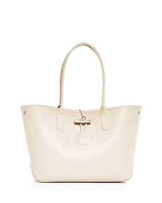 Longchamp Roseau Small Leather Tote Bloomingdale S