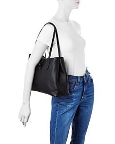 Longchamp - Roseau Essential Medium Leather Shoulder Tote