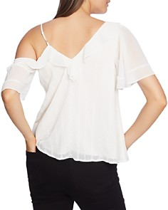 1.STATE - One Shoulder Ruffle Top