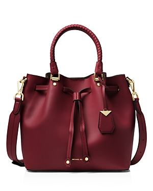 Michael Michael Kors Medium Leather Bucket Bag