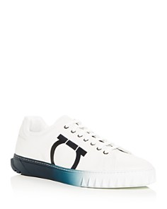 Salvatore Ferragamo - Men's Cube Low-Top Sneakers