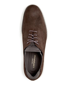 Cole Haan - Men's 2.ZeroGrand Textured Leather Oxfords