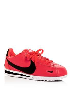 Nike - Men's Classic Cortez Premium Leather Low-Top Sneakers