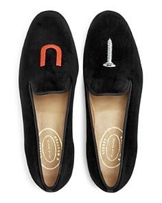 Stubbs & Wootton - Men's Nitenday Velvet Smoking Slippers