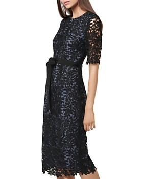 L.K.Bennett - Leigh Leaf Lace Dress