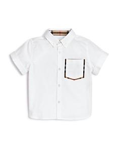 Burberry - Boys' Harry Button-Down Shirt - Little Kid, Big Kid