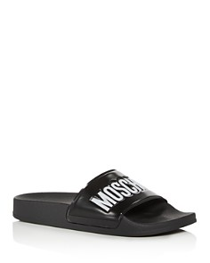 Moschino - Women's Logo Slide Sandals