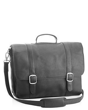 Royce New York 15 Leather Laptop Bag