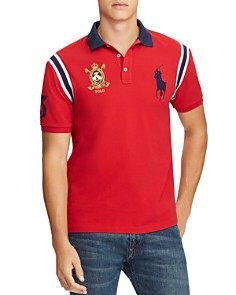Polo Ralph Lauren - Contrast-Trimmed Mesh Polo Shirt