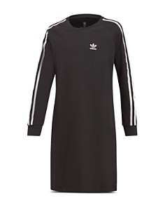 Adidas - Girls' Long-Sleeve T-Shirt Dress - Big Kid