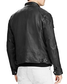 Polo Ralph Lauren - Circuit Leather Biker Jacket