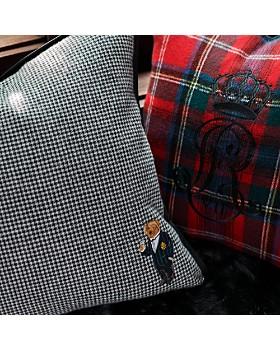 """Ralph Lauren - Leinster Embroidered Decorative Pillow, 20"""" x 20"""""""