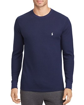 Polo Ralph Lauren - Long-Sleeve Waffle-Knit Tee