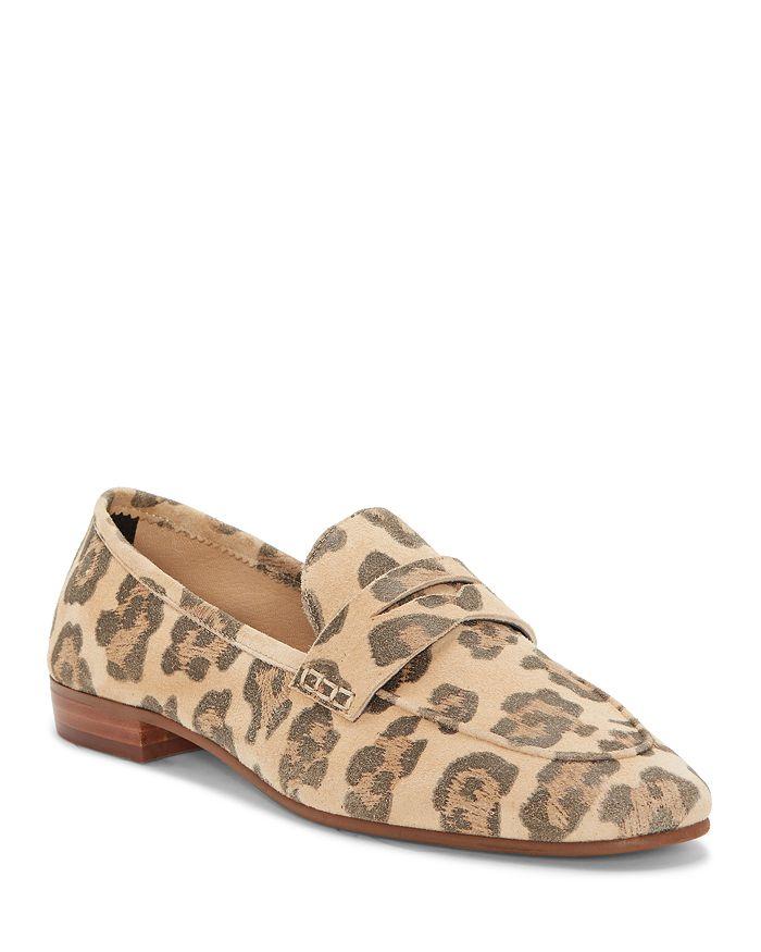 15f550092 VINCE CAMUTO - Women s Macinda Metallic Leather Loafers