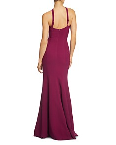 Dress the Population - Brianna High-Neck Mermaid Gown