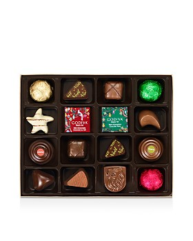 Godiva® - Holiday Chocolate and Truffle Collection, 16 Pieces