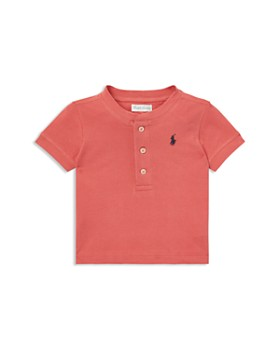 Ralph Lauren - Boys' Cotton Henley Shirt - Baby ...