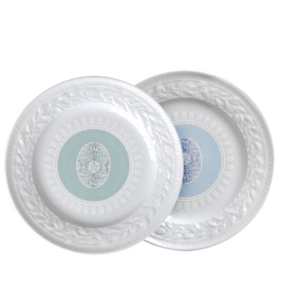 Louvre Easter Salad Plate, Set of 4