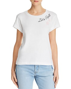 WILDFOX - Let's Roll Embroidered Tee