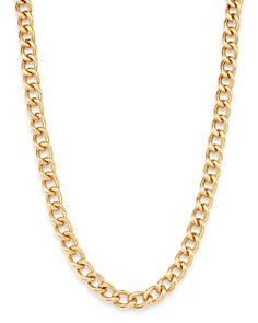 """Bloomingdale's - 14K Yellow Gold Chain Link Collar Necklace, 17"""" - 100% Exclusive"""