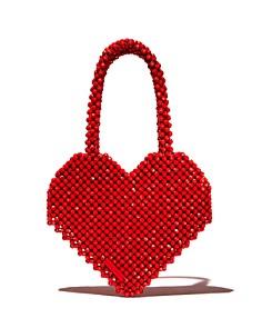 Loeffler Randall - Maria Beaded Heart Tote