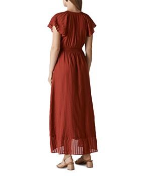 Whistles - Nolita Maxi Wrap Dress