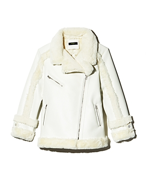 Heurueh Faux-Shearling Moto Jacket - 100% Exclusive