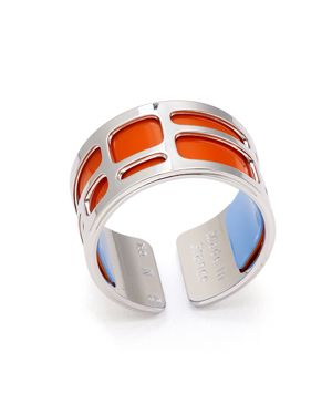 Labyrinth Ring in Silver/Multi