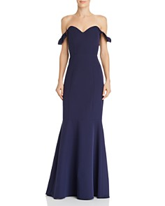 WAYF - Gabriela Off-the-Shoulder Gown