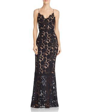 JARLO Savannah Lace Dress in Black