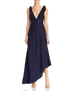 Keepsake - Abound Shadow Stripe Gown