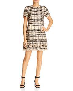 72df6e455c6 kate spade new york Sleeveless Textured-Stripe Sweater Dress ...