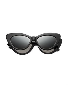 Illesteva - Women's Pamela Cat Eye Sunglasses, 53mm