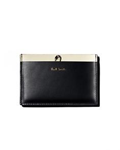 Paul Smith - Lady-Motif Leather Card Case