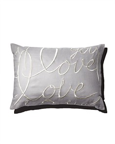 "Matouk - Love Decorative Pillow, 15"" x 21"""