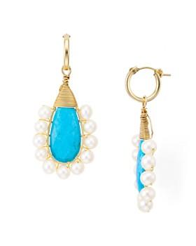 Beck Jewels - Lolita Cultured Freshwater Pearl Drop Earrings