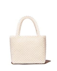AQUA - Samira Faux Pearl Beaded Tote - 100% Exclusive