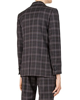 Gerard Darel - Plaid Blazer - 100% Exclusive
