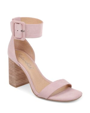 Splendid Women's Siri Striped Chunky Heel Sandals